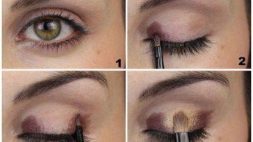 Soft Look For Hazel Eyes   Makeup Mania   Make- Up   Makeup, Eye for Natural Makeup Tutorial For Hazel Eyes