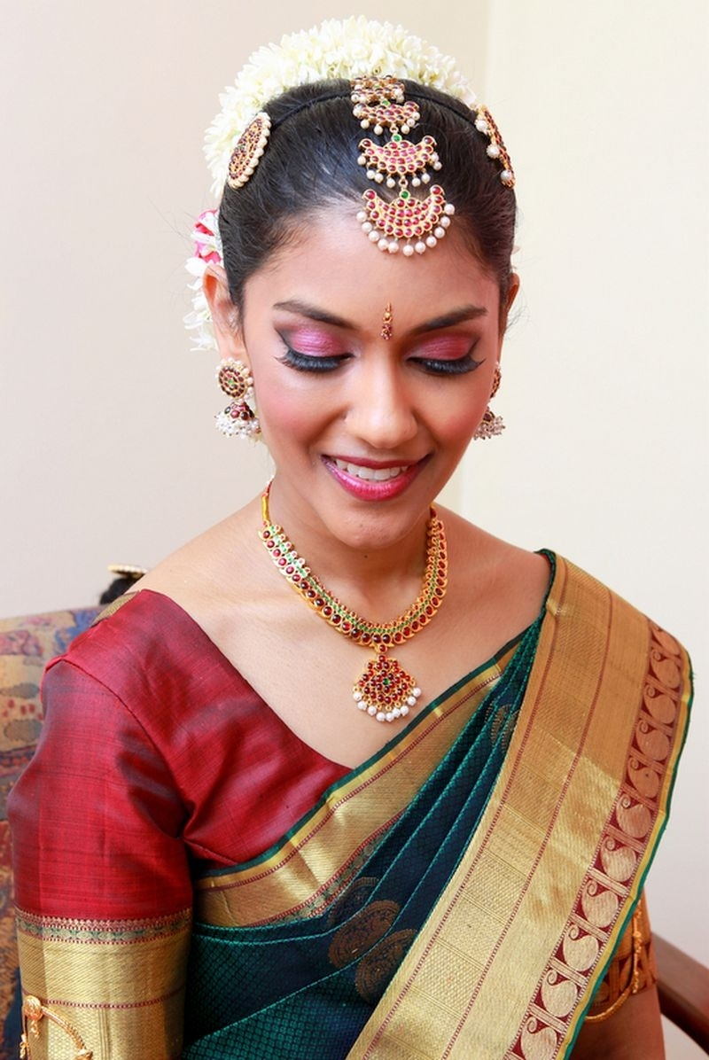 South Indian Bridal Makeup And Jewelry | Happy Shappy with South Indian Wedding Makeup Images