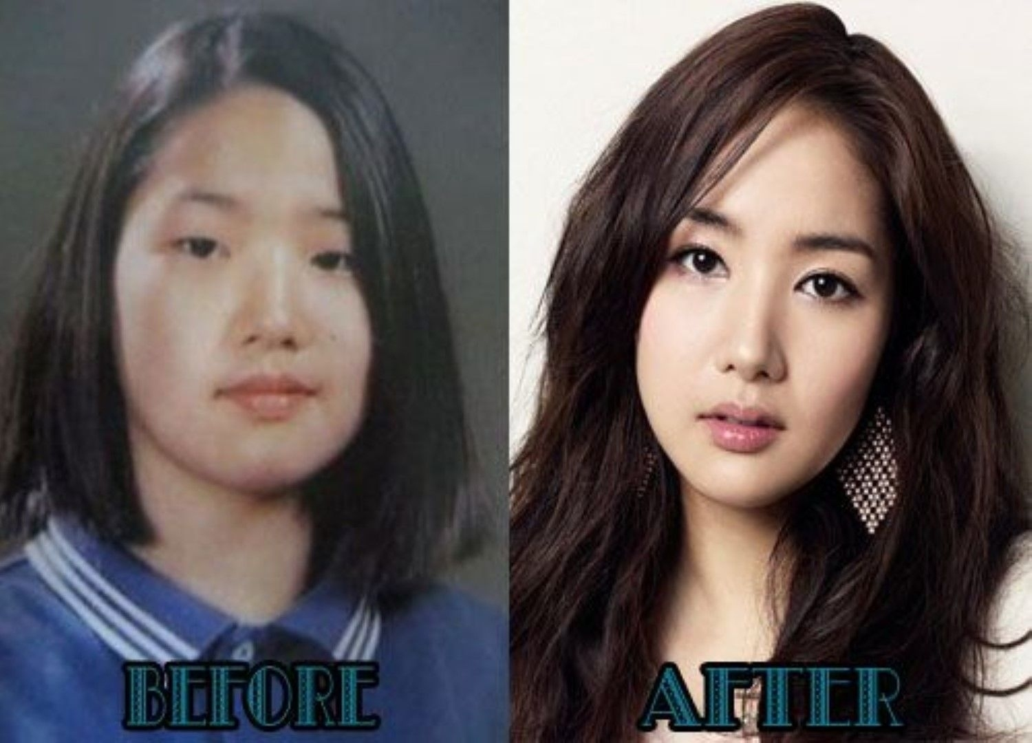 korean artist before and after makeup | saubhaya makeup