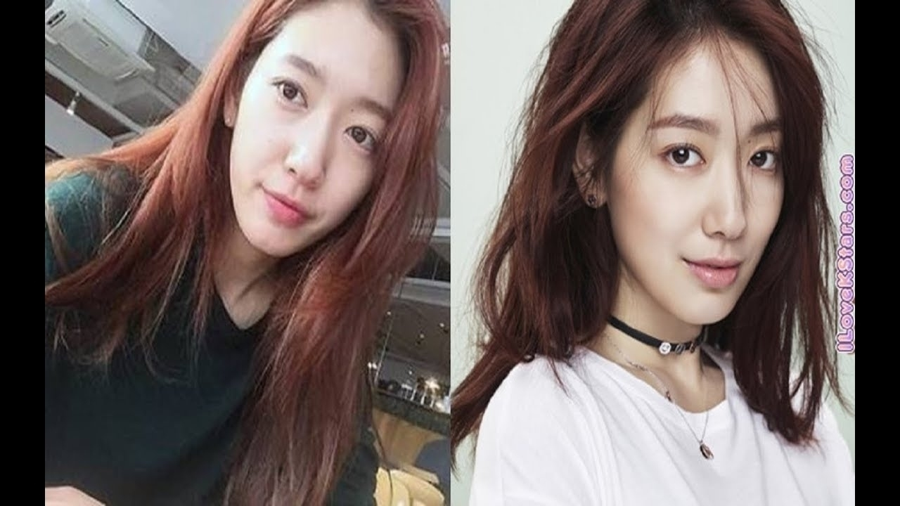 Korean Actress Before And After Makeup Wavy Haircut