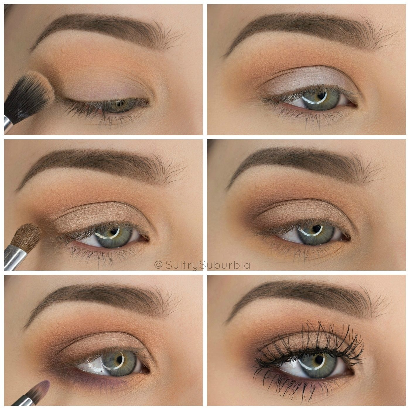 Step By Step Simple & Pretty Eyeshadow Tutorial | Sultry Suburbia in Eyeshadow Looks Step By Step
