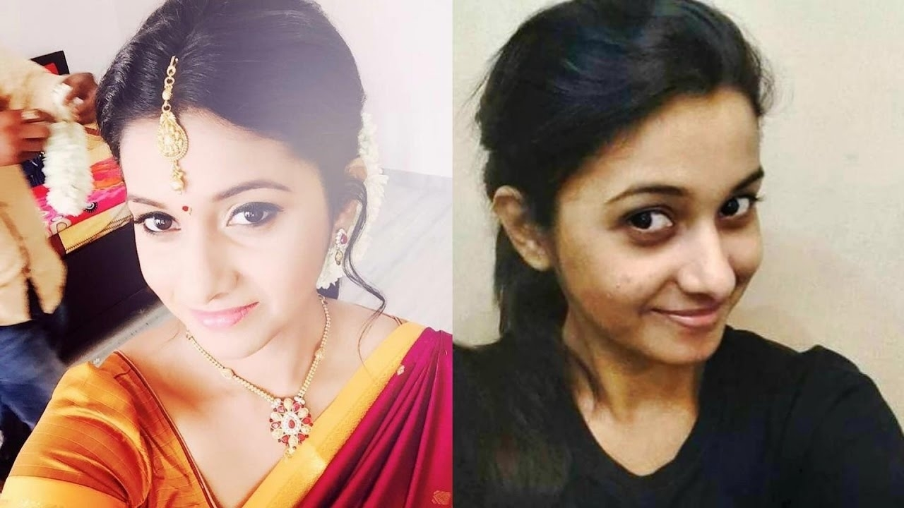Tamil Serial Actress With And Without Makeup || Part 1 || 2016 with regard to Indian Actress Without Makeup Facebook