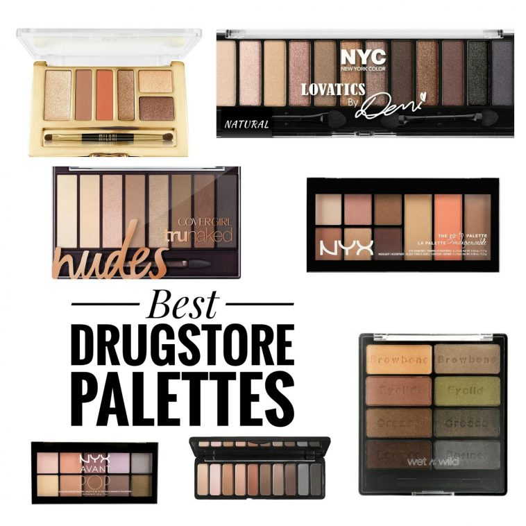 The Best Drugstore Eyeshadow Palettes | The Budget Beauty Blog within Best Drugstore Eyeshadow Palettes For Green Eyes