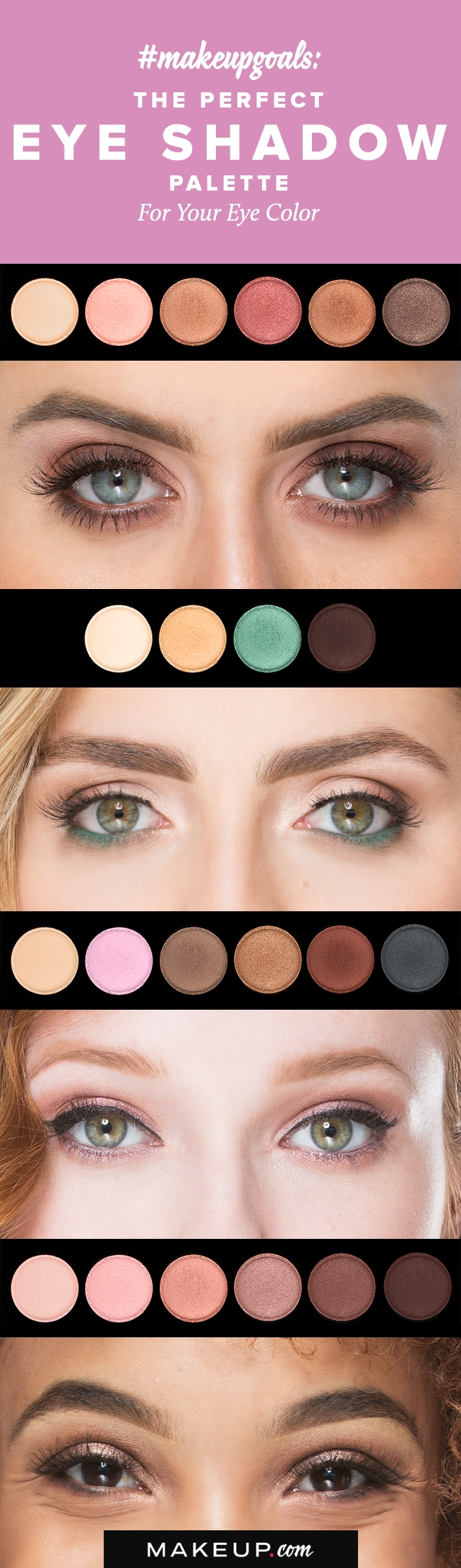 The Best Eyeshadow Palette For Your Eye Color | Eye Makeup with regard to Best Eyeshadow Palettes For Hazel Green Eyes