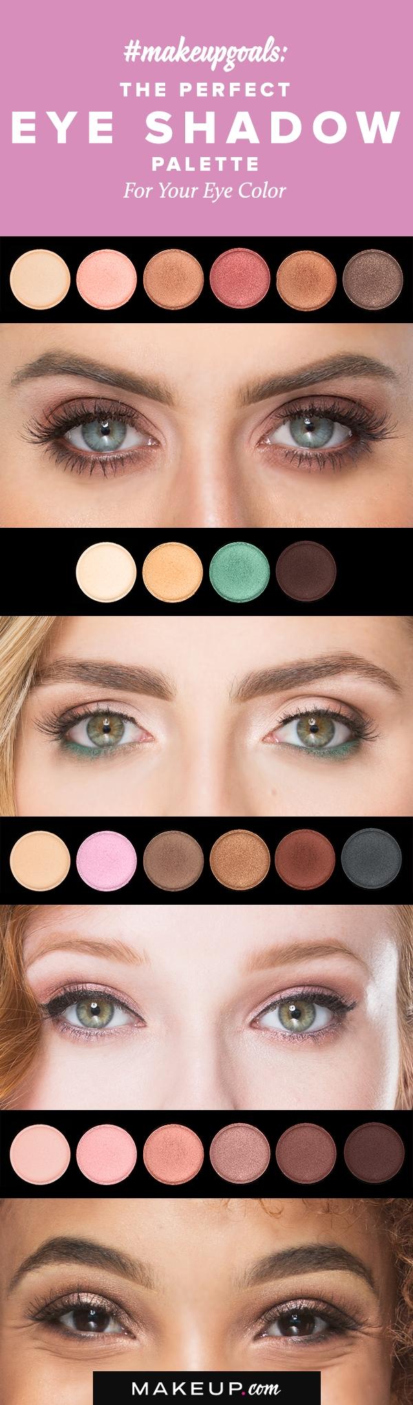 best eyeshadow palettes for green eyes - wavy haircut