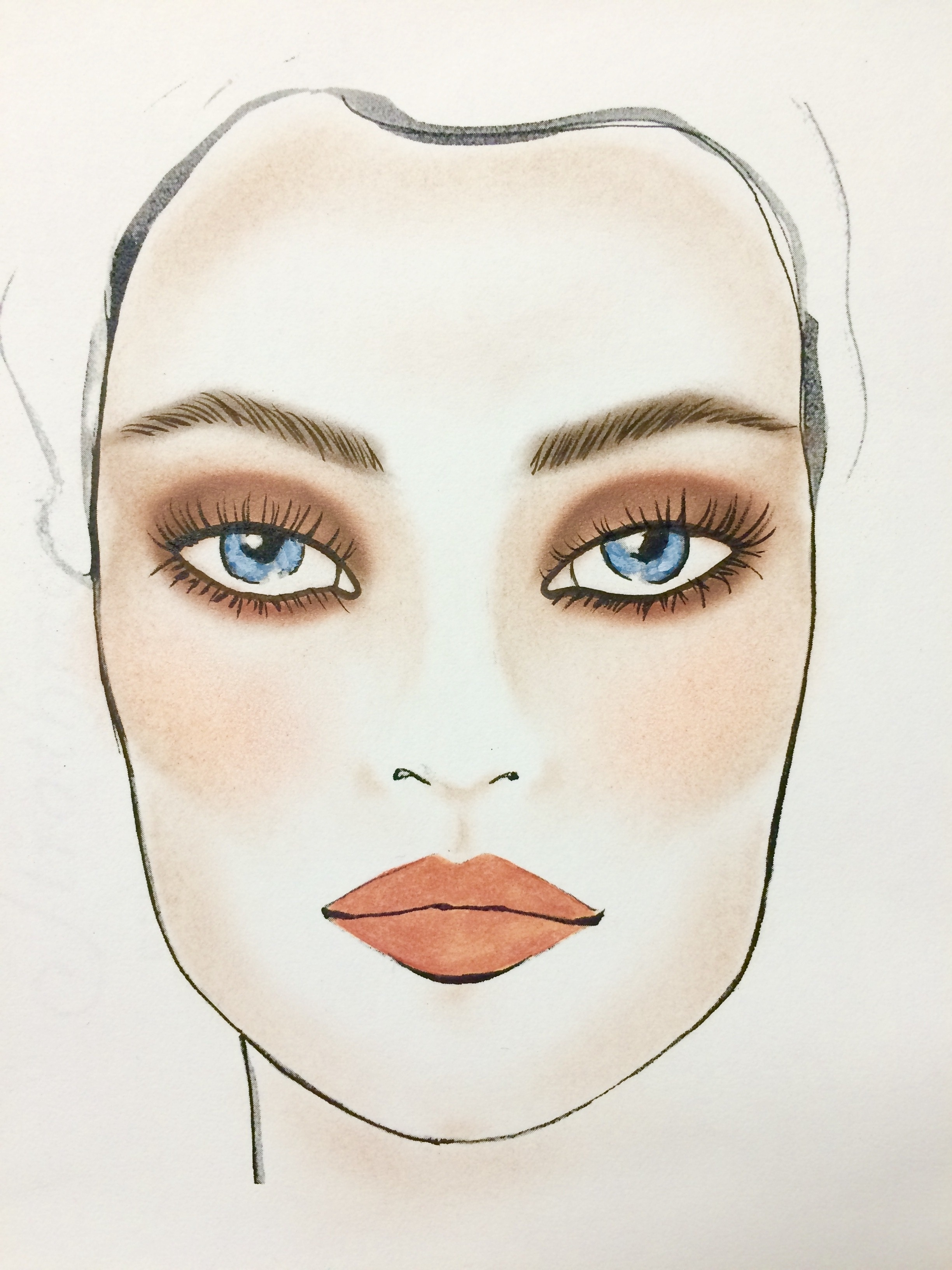 The Most Beautiful Makeup For Blue Eyes   Huffpost Life intended for What Color Eyeshadow For Blue Eyes And Dark Brown Hair