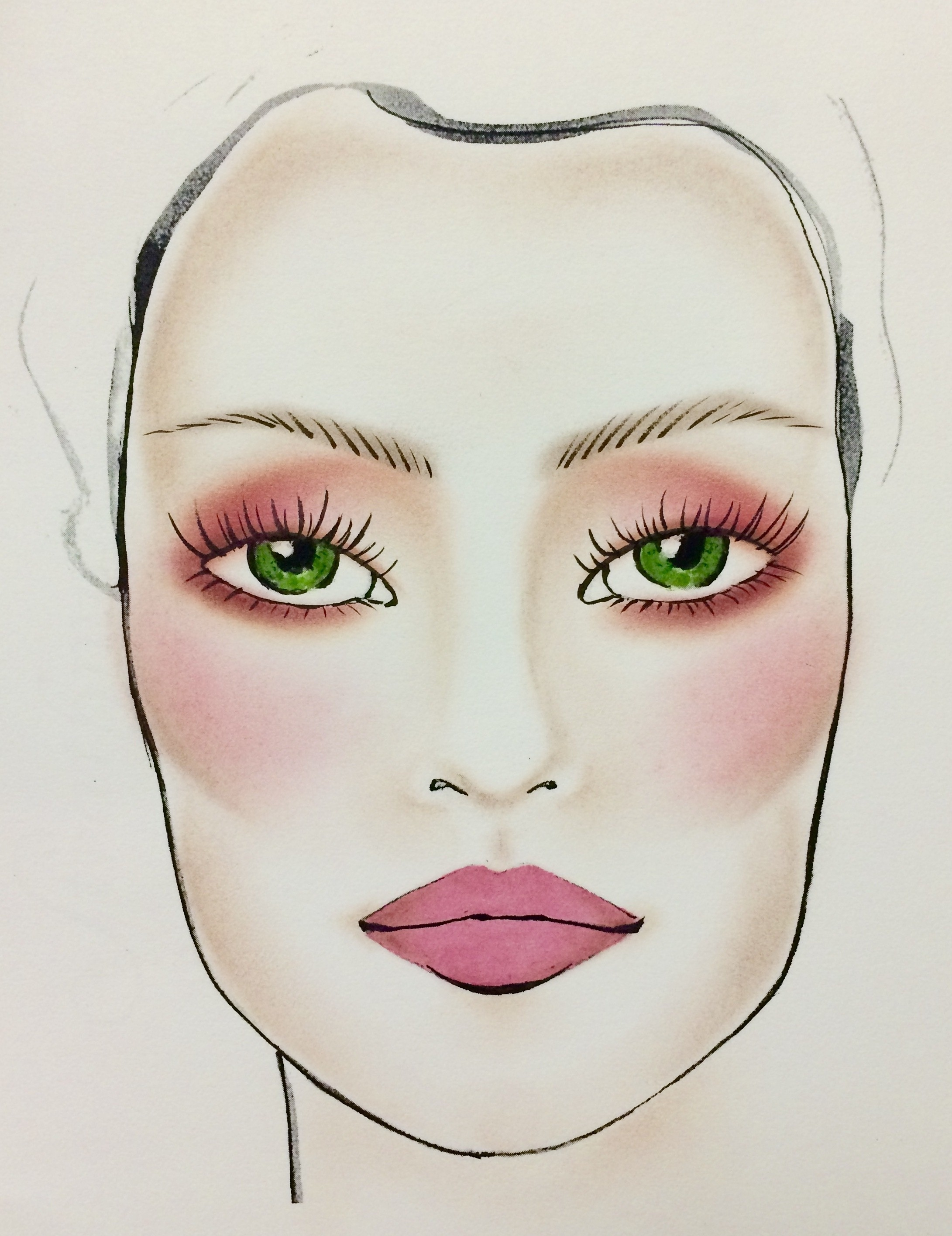 The Most Gorgeous Makeup For Green Eyes | Huffpost Life intended for What Color Eyeshadow For Green Eyes And Pale Skin