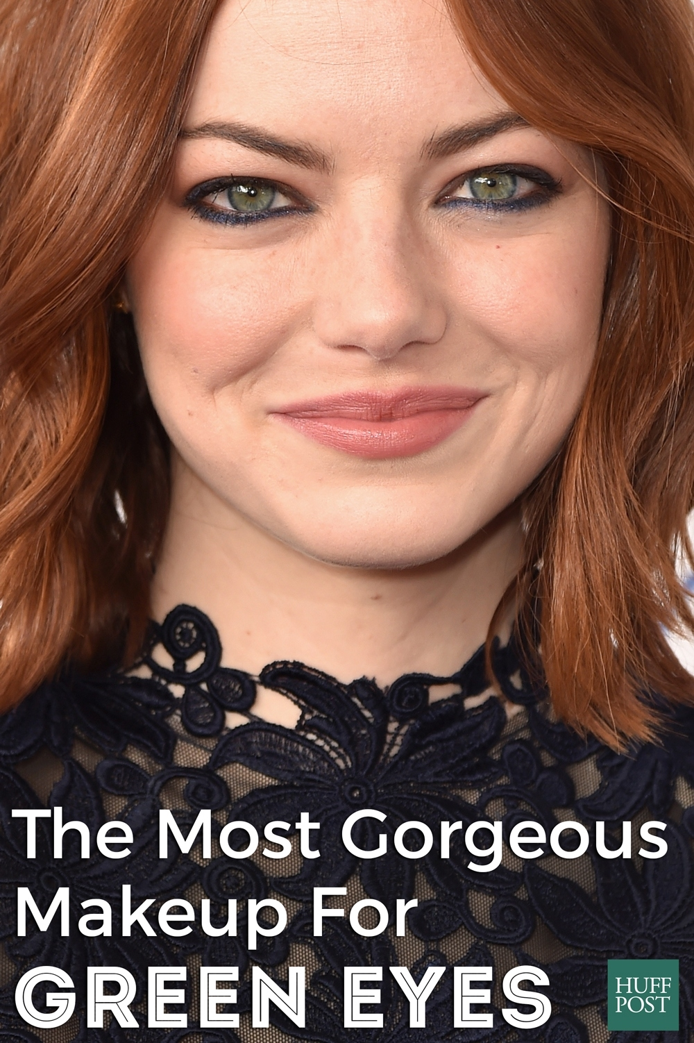 The Most Gorgeous Makeup For Green Eyes | Huffpost Life regarding Best Color Eyeshadow For Green Eyes And Red Hair