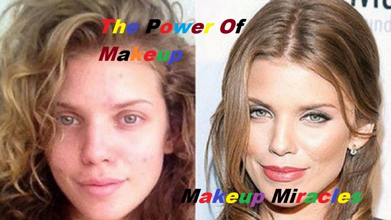 The Power Of Makeup  Celebrities Without Makeup 2016 60 Hollywood in Stars Before And After Makeup