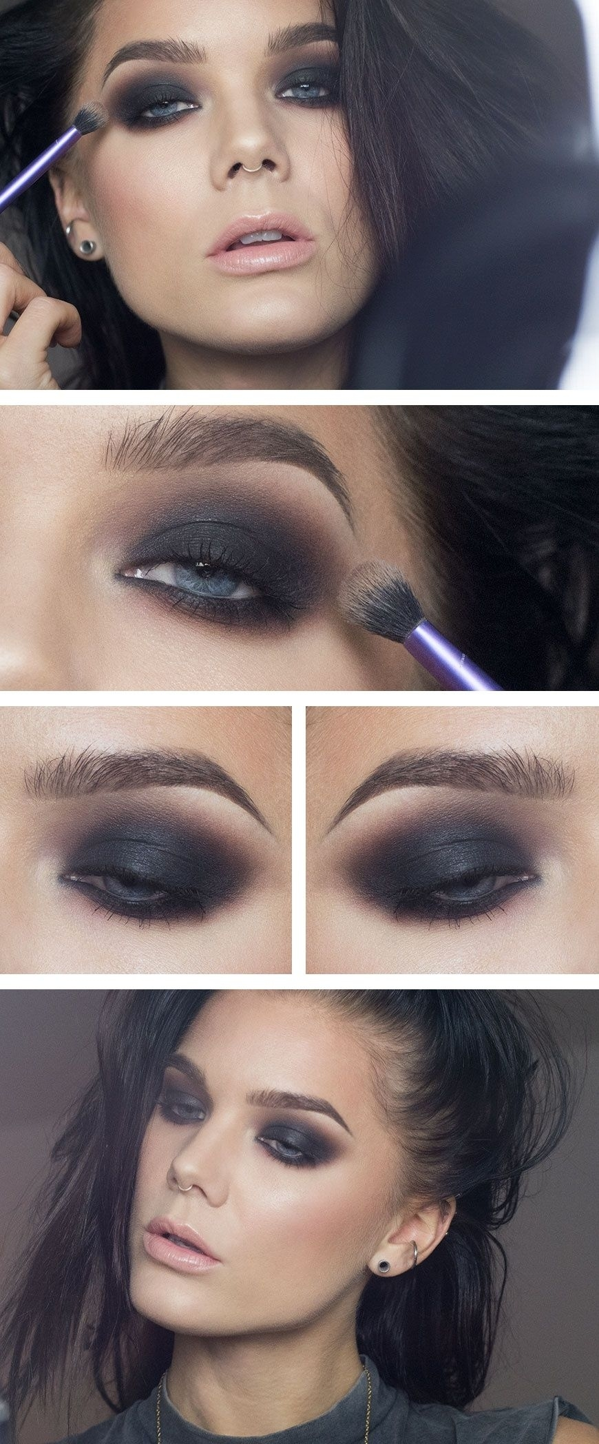 Todays Look – The Classic Smokey Eye | Gorgeous Make-Up with Makeup Ideas For Dark Brown Eyes And Black Hair