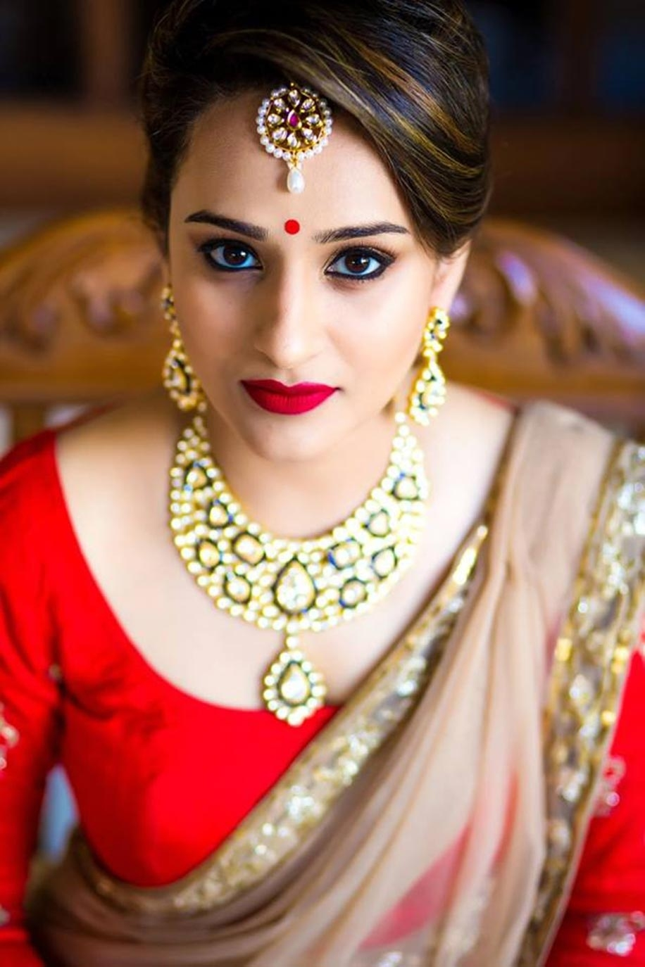 Top 10 Makeup Looks For Your Wedding Reception | Bridal Beauty intended for Bridal Makeup Gallery