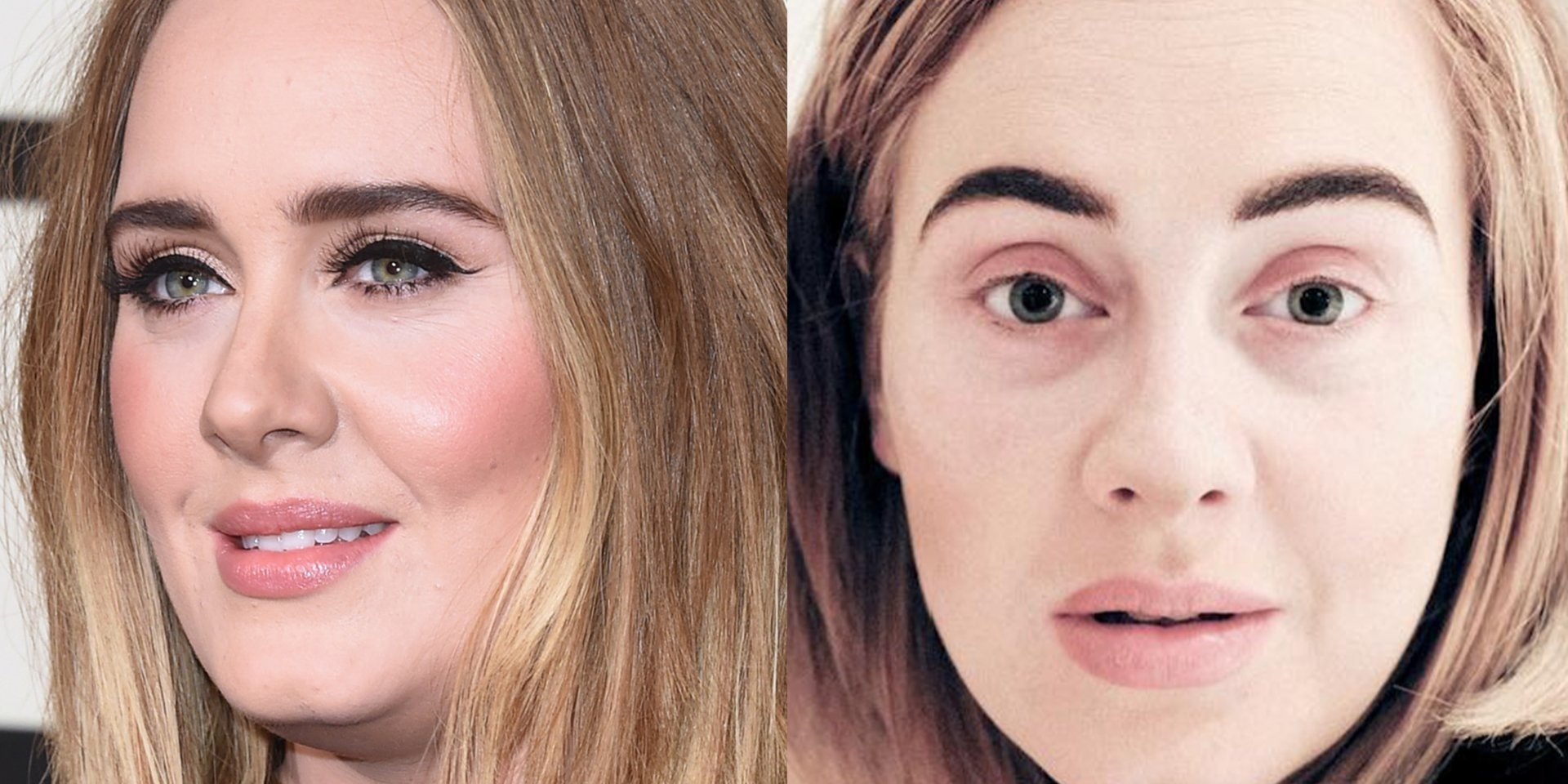 What Celebrities Look Like Without Makeup - Insider within Celebrities Before And After Makeup