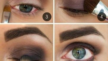 10 Step By Step Makeup Tutorials For Green Eyes - Her Style Code inside Makeup Tutorials For Dark Green Eyes