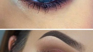 35 Wedding Makeup For Blue Eyes - The Goddess in Best Makeup Colors For Blue Eyes And Brown Hair