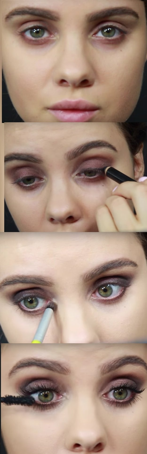 50 Perfect Makeup Tutorials For Green Eyes - The Goddess intended for How To Apply Eye Makeup For Green Eyes Video
