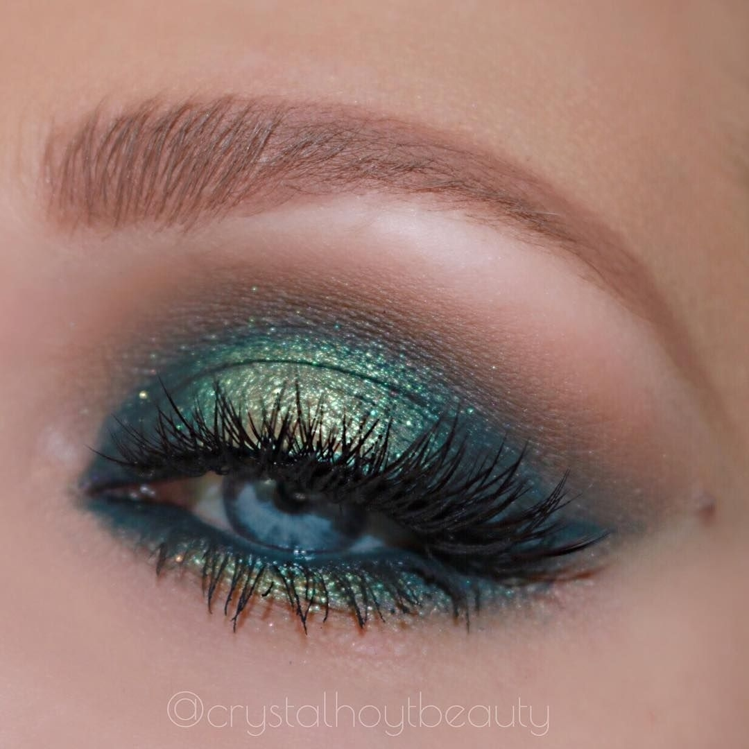 Blue Green Eye Makeup | Green Eyeshadow | Abh Subculture Palette regarding Best Eyeshadow Blue Green Eyes
