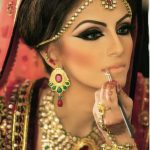 Dulhan Makeup Ideas 2014 For Girls Hd Wallpapers Free Download throughout Bridal Makeup Images 2014