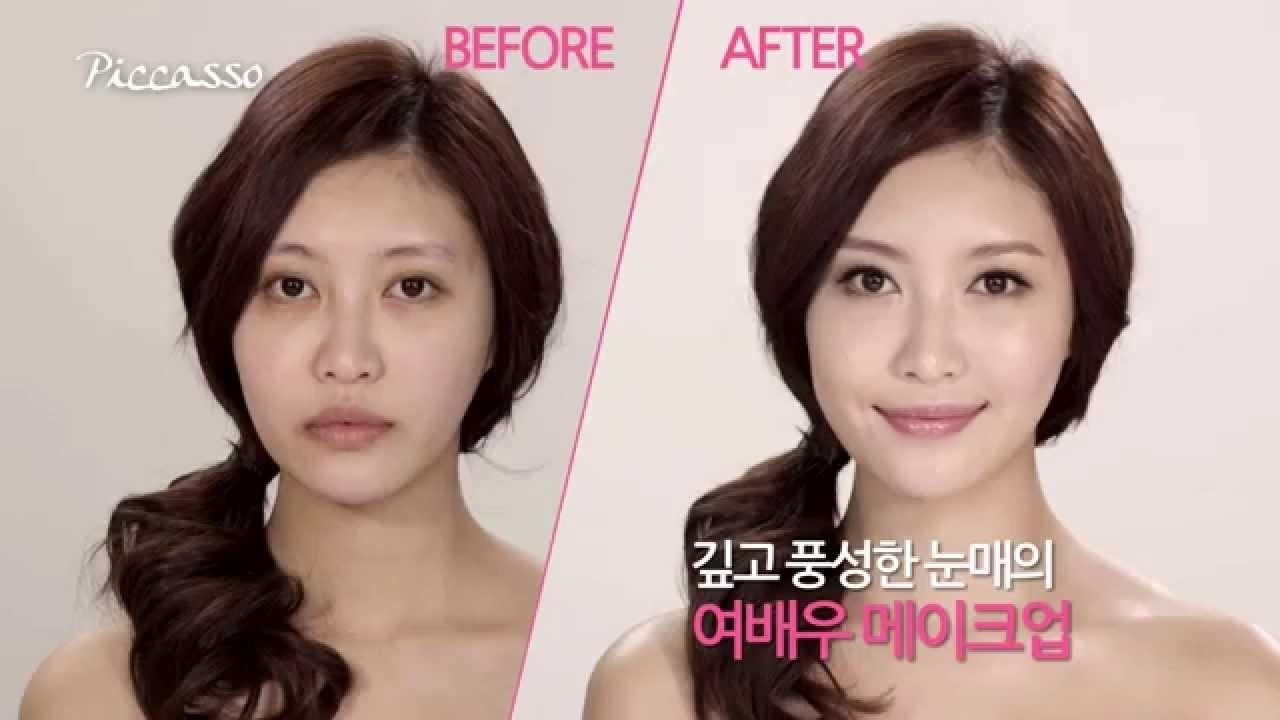 korean celebrities before after makeup | saubhaya makeup
