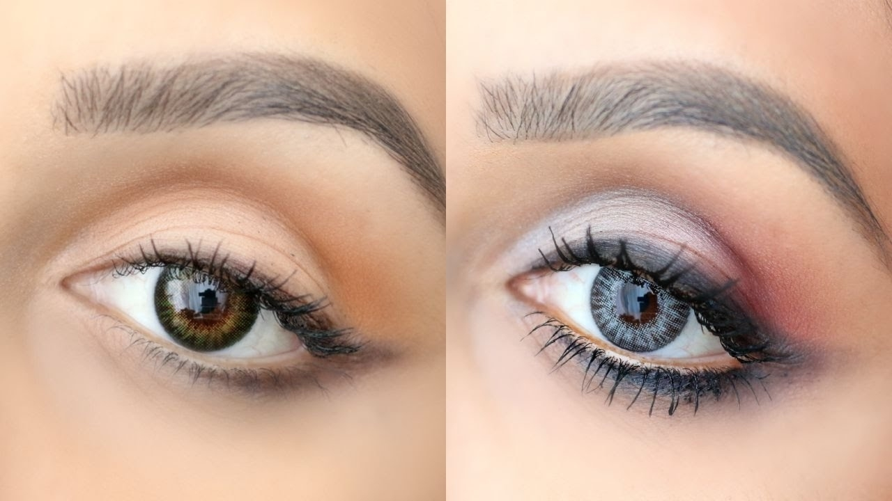 Eye Makeup Tutorials For Green & Sterling Gray Eyes - Youtube inside Makeup Tutorials For Green Eyes Youtube