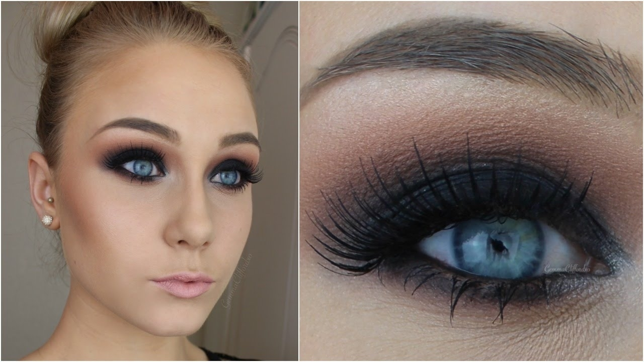 For Beginners ♡ Black Smokey Eye In 12 Simple Steps! - Youtube with regard to Steps For Smokey Eyes With Pictures