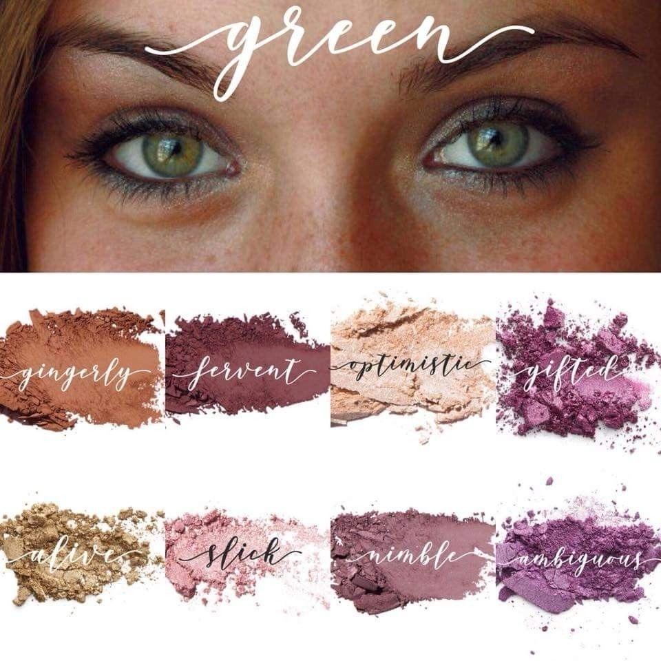 Green Or Hazel Eye Shadow Colors | Younique Party In 2019 | Hazel intended for Eyeshadow Colors For Hazel Green Eyes