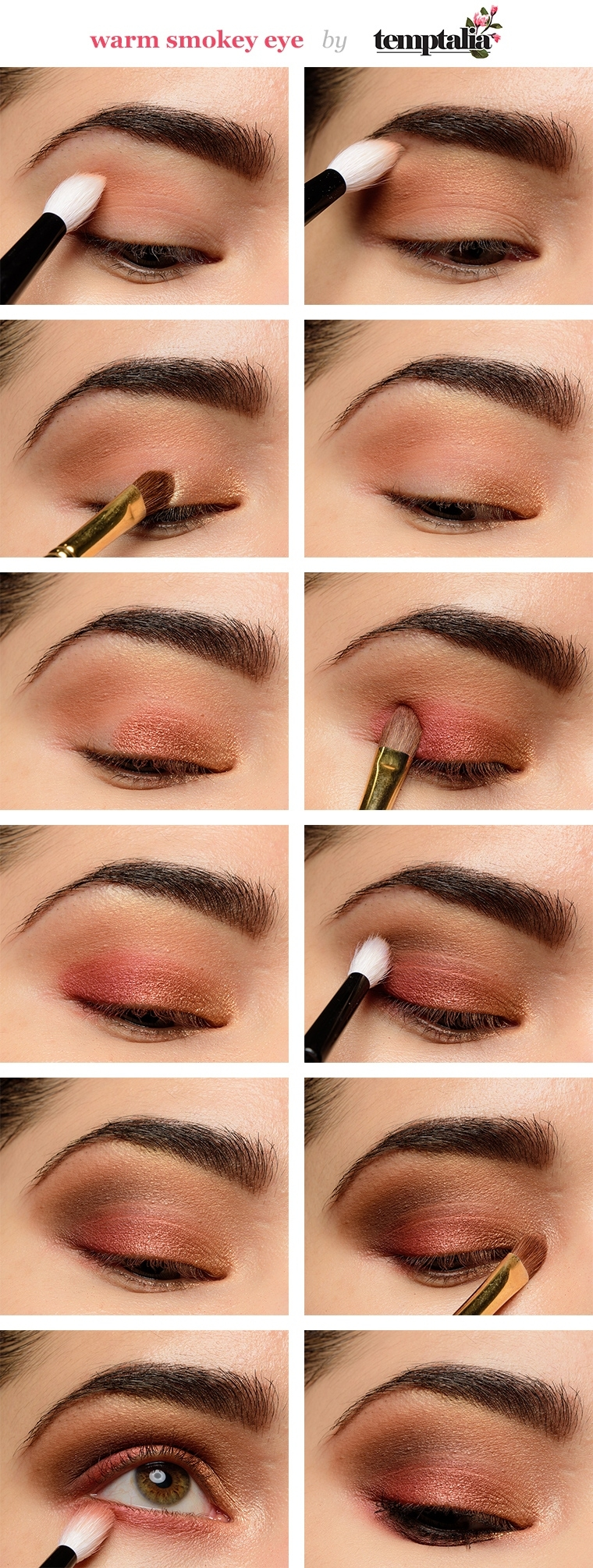 How To Apply Eyeshadow: Smokey Eye Makeup Tutorial For Beginners intended for Smoky Eye Makeup Step By Step Pictures