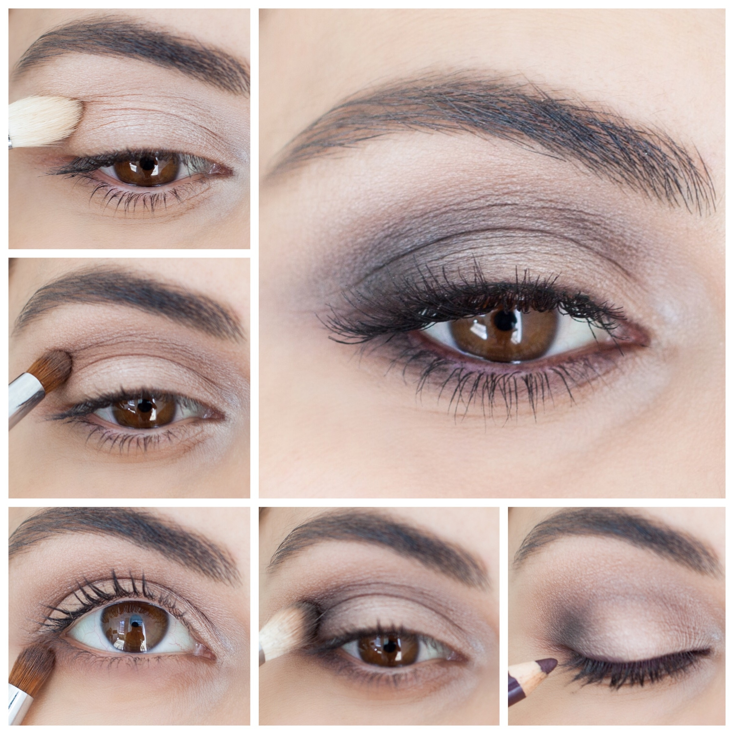 How To: Brown Smokey Eye - Simply Sona throughout Smoky Eye Makeup Step By Step Pictures