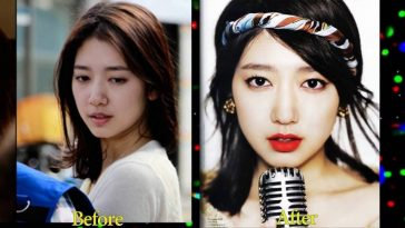 Korean Celebrity Without Makeup Before And After – Wavy Haircut with regard to Korean Celebrity Before And After Makeup