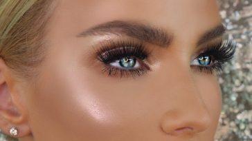 Makeup For Blue Eyes: 5 Eyeshadow Colors To Make Baby Blues Pop with Best Eyeshadow Colors Blue Eyes Blonde Hair
