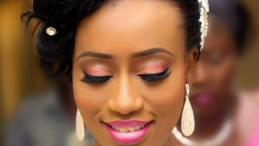 Nigerian Wedding Makeup Pictures - Wedding Day intended for Nigerian Wedding Makeup Pictures