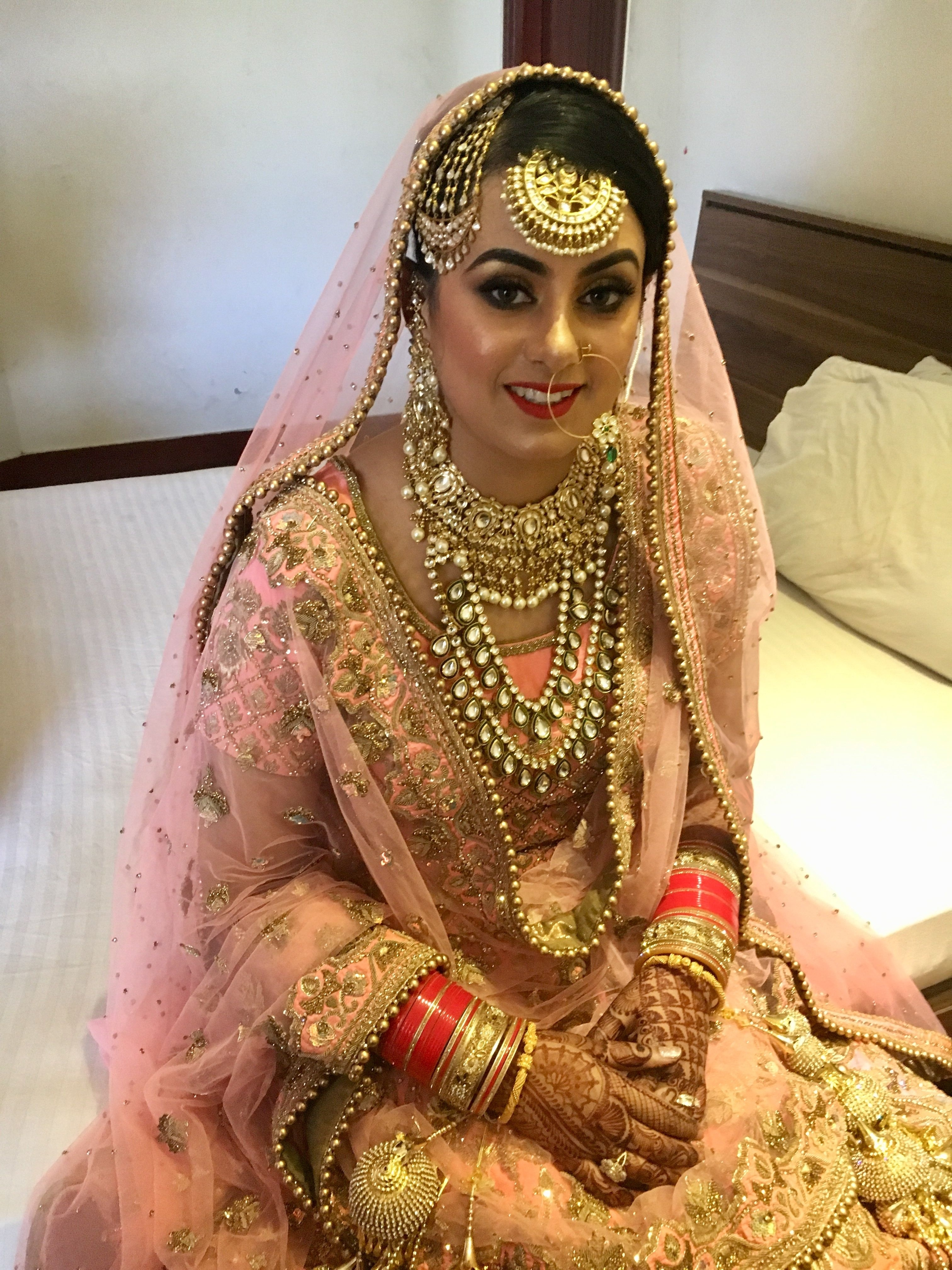 Nivetas   Bridal   Indian Bridal Makeup, Indian Bridal Fashion regarding Indian Punjabi Bridal Makeup Photos