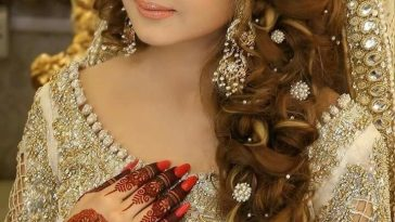 Pakistani Bridal | Hair Style | Pakistani Bridal Hairstyles, Bridal with Bridal Hair And Makeup Images