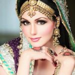 Pakistani Bridal Makeup Pictures 2014 – Wavy Haircut for Pakistani Bridal Makeup Pics 2014