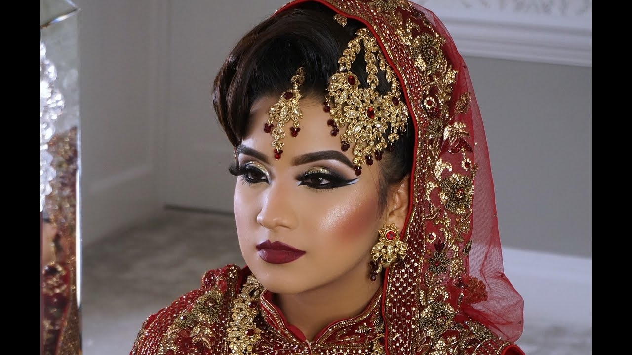 Photoshoot | Asian Bridal Makeup | Wedding And Walima Look | - Youtube inside Bridal Makeup Photoshoot