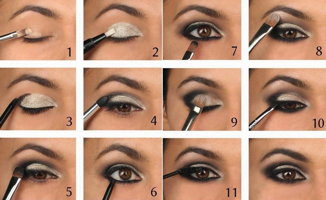 Smoky Eye Makeup Tutorial   Smoky Eye Guide   Road To Beauty inside How To Apply Smoky Eye Makeup Step By Step