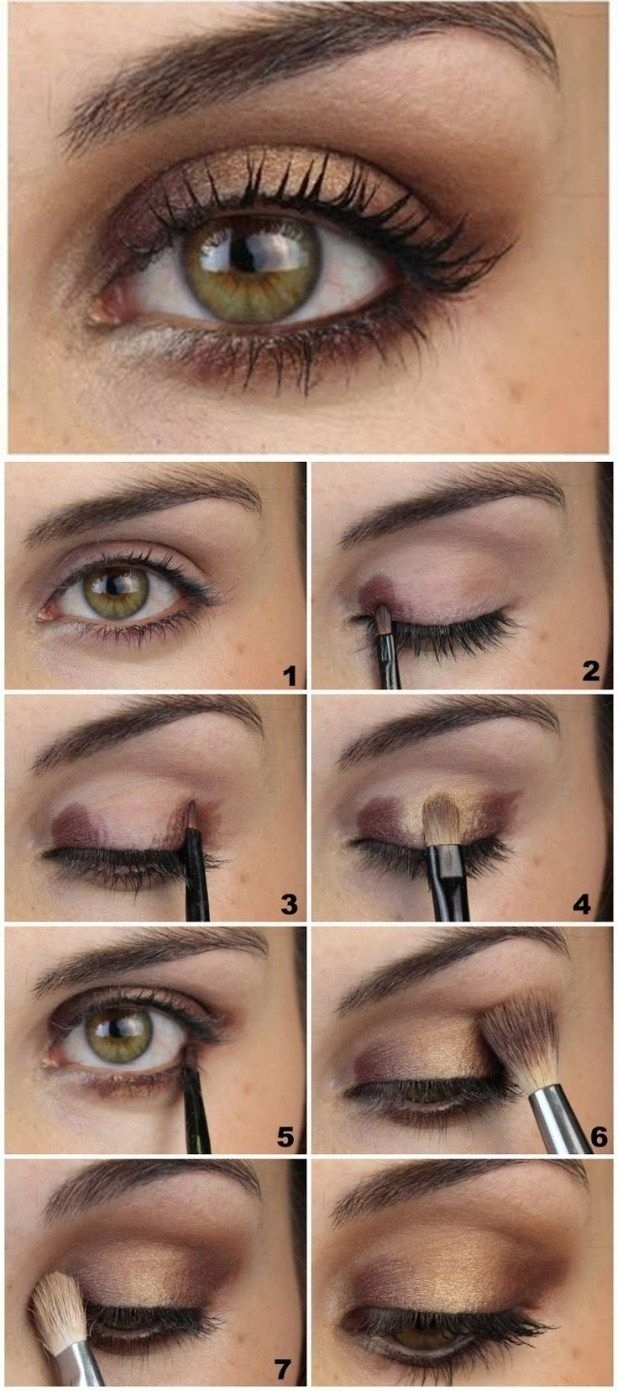 What Color Eyeshadow Looks Best For Green Eyes – Wavy Haircut inside Best Color Eyeshadow For Green Eyes
