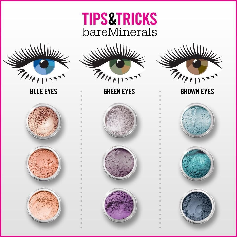 best eyeshadow color for blue green eyes - wavy haircut