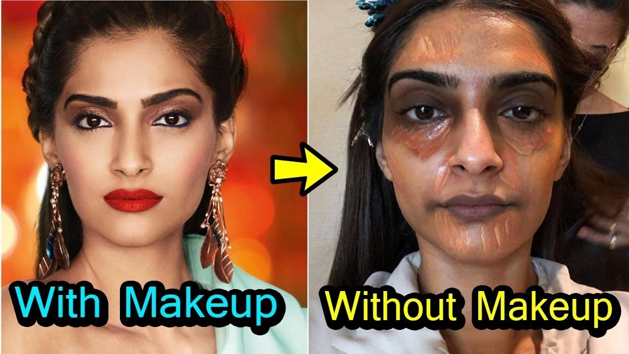 20 Shocking Looks Of Bollywood Actress Without Makeup - Youtube intended for Pics Of Bollywood Actress Without Makeup