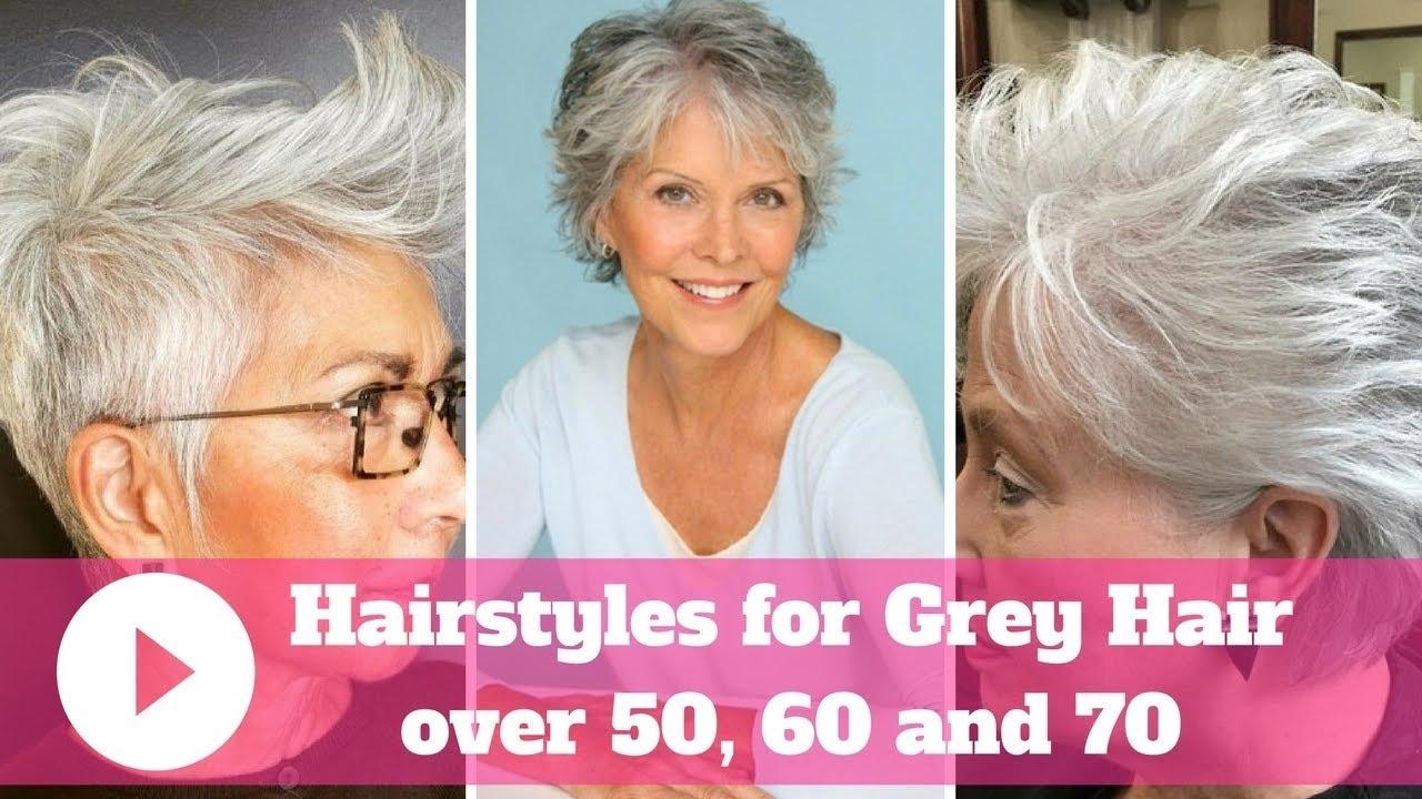 thin grey hair what is the best haircut – wavy haircut