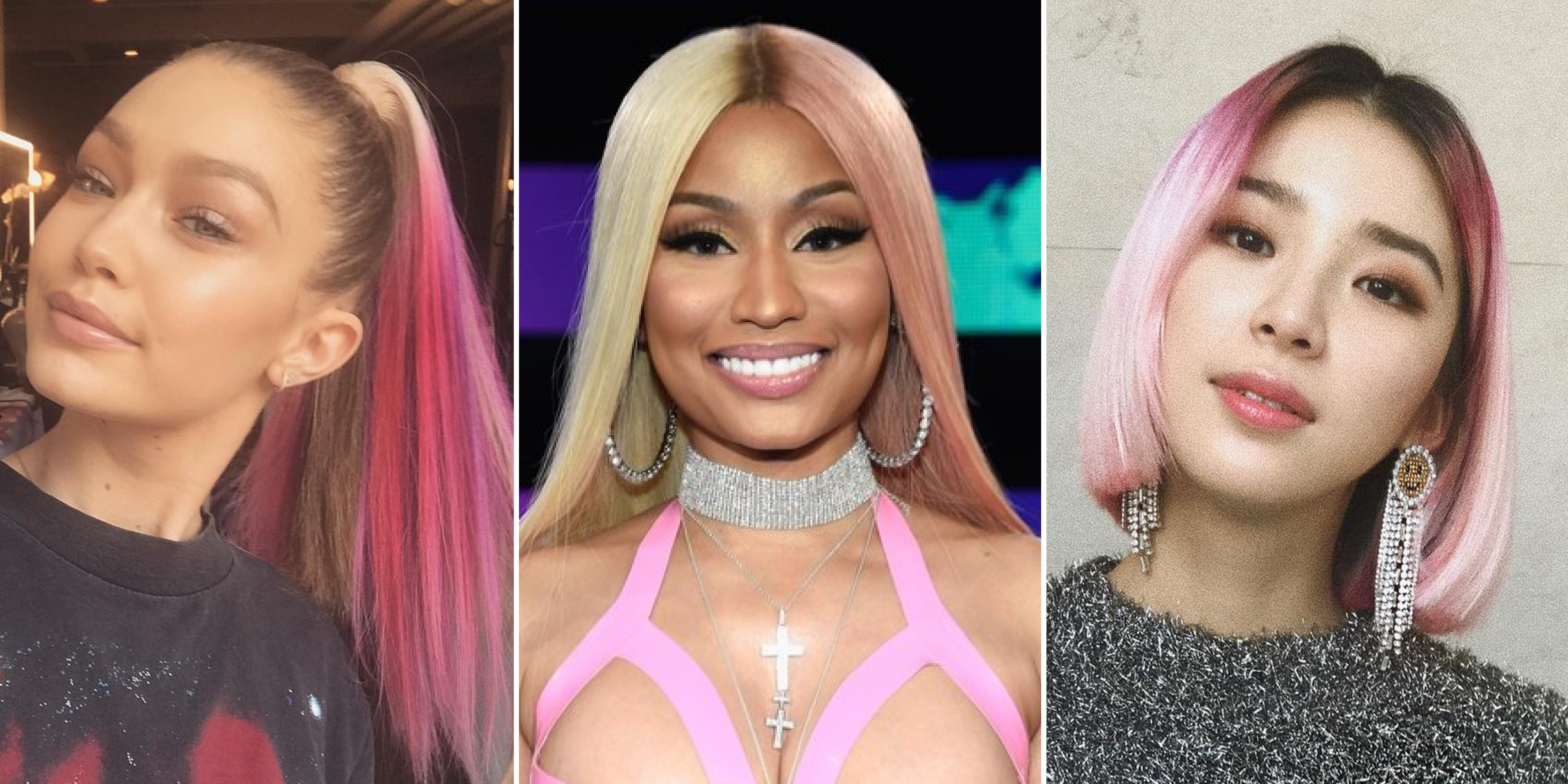 pink singer hairstyle product – wavy haircut