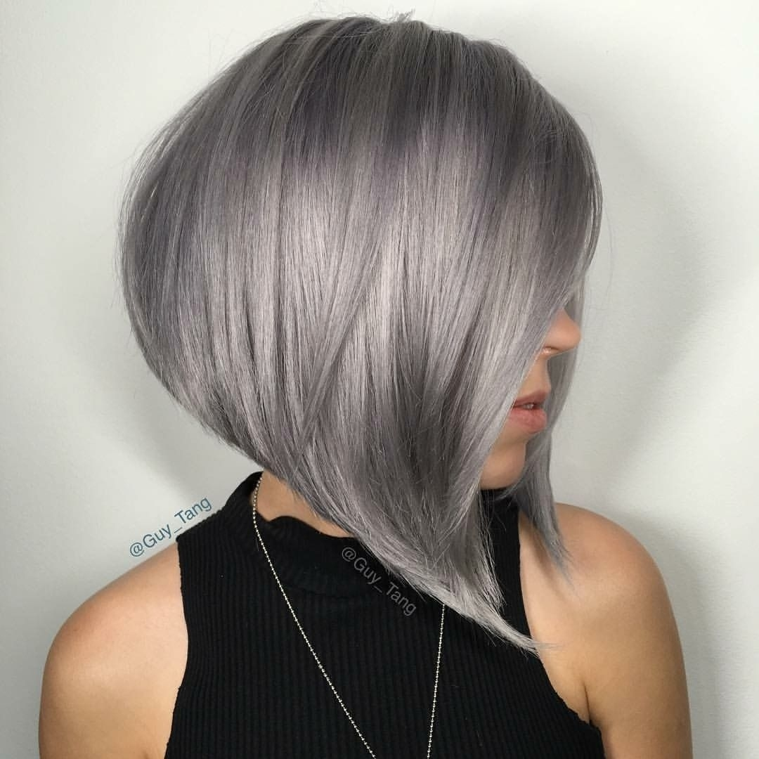 40 Super Cute Short Bob Hairstyles For Women 2019 In 2019 | Trendy intended for Medium Bob Grey Hair