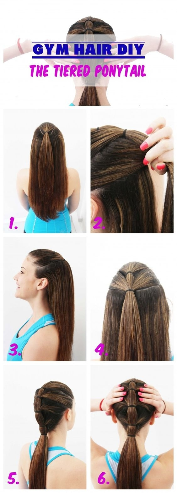 7 Easy Ways To Do Your Hair For Sports inside Easy To Do Sports Hairstyles