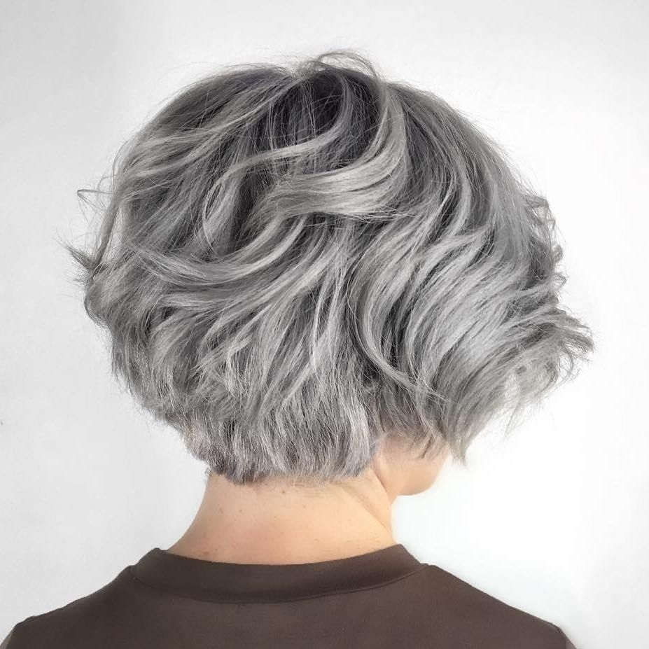 70 Cute And Easy-To-Style Short Layered Hairstyles | Hair Styles with Which Bob Hairstyle For Thick Grey Hair