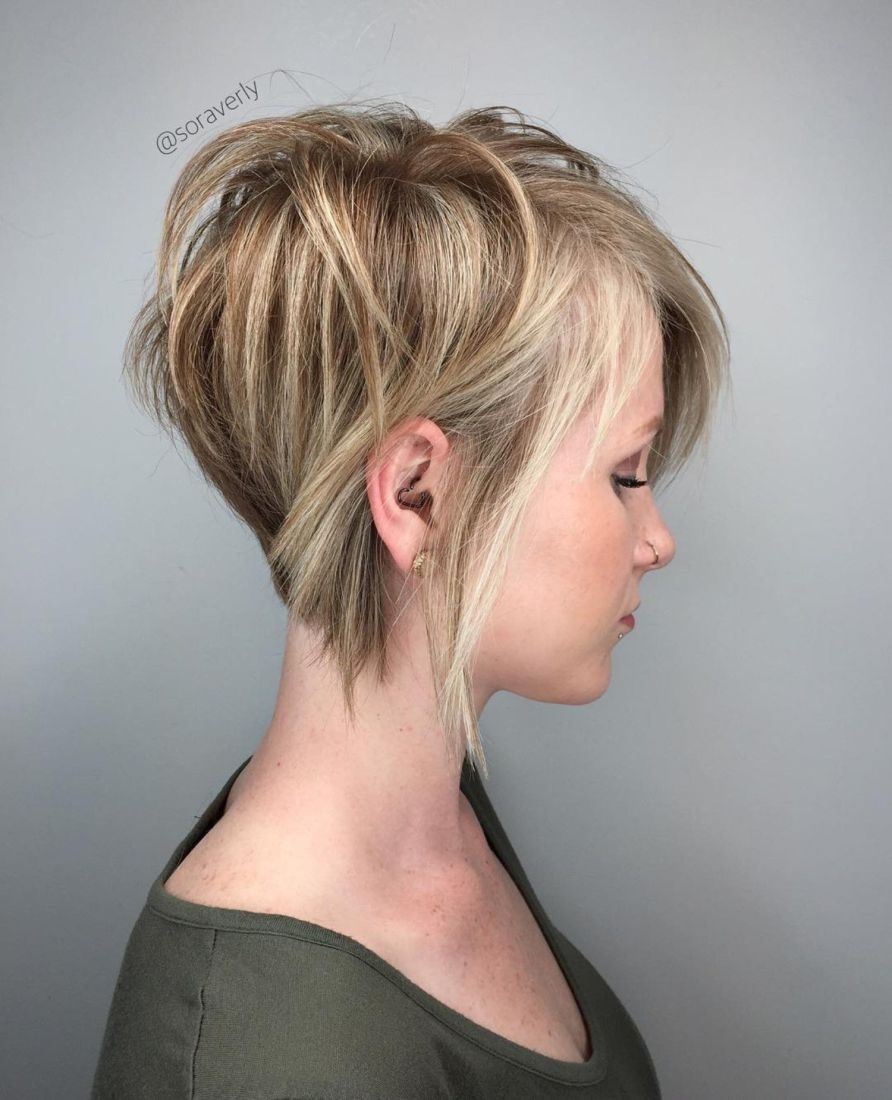 70 Cute And Easy-To-Style Short Layered Hairstyles In 2019 | Short throughout Flippy Short Layered Haircut