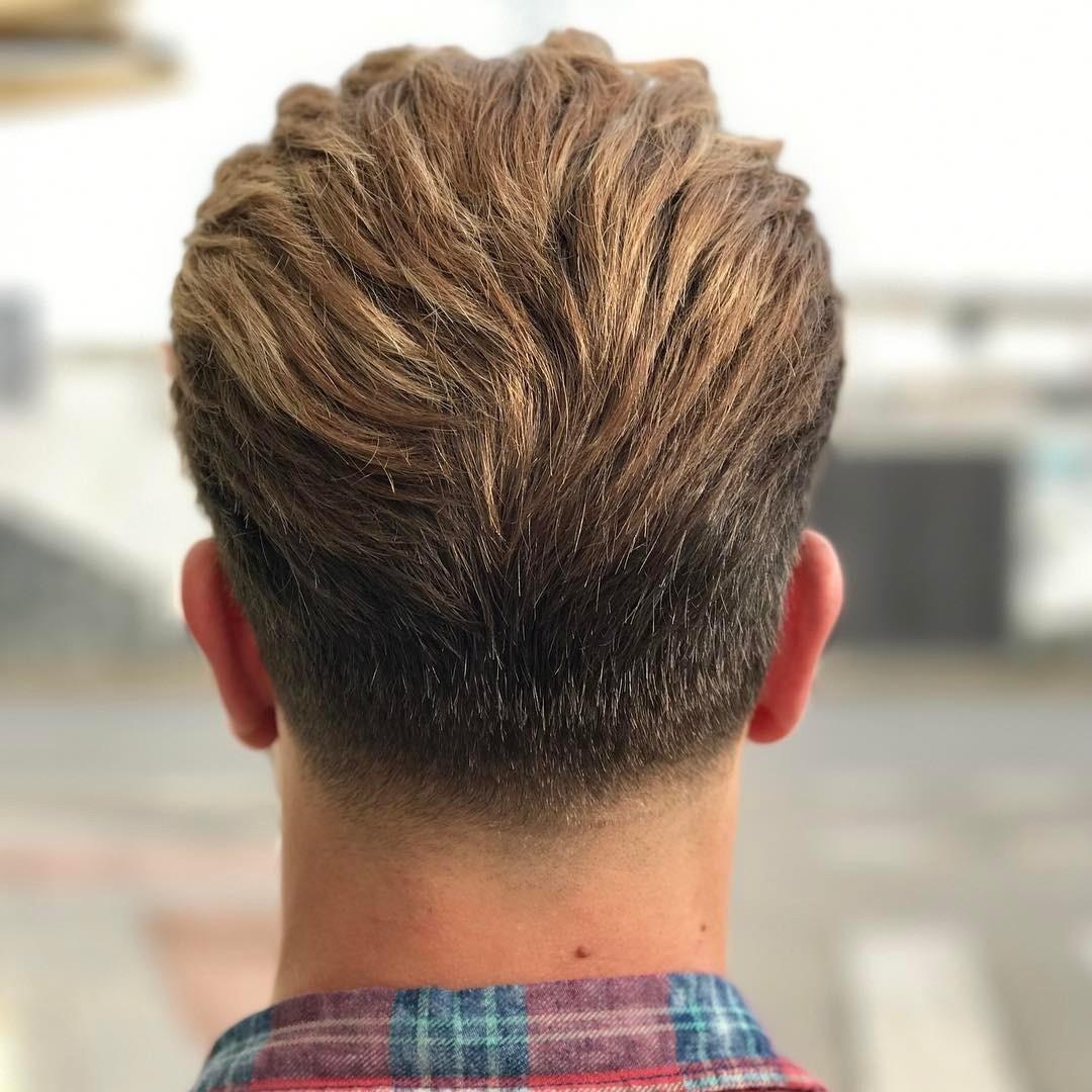8 Taper Fade Haircuts inside Back Of Head Hair Cuts