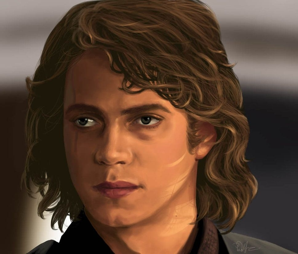 Anakin Skywalker By Afrodite On Deviantart   Nerd Art   Anakin inside Anakin Skywalker Long Hair Style