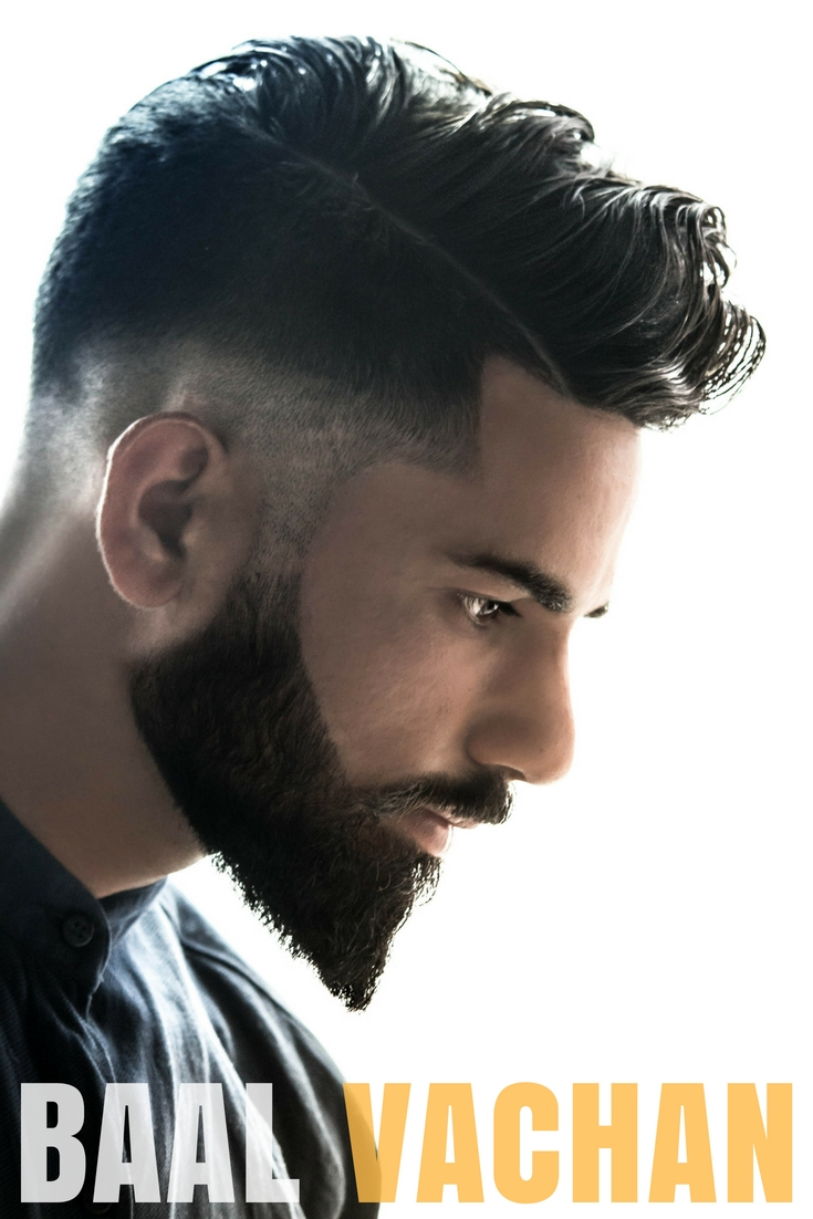indian mens hairstyle without beard - wavy haircut
