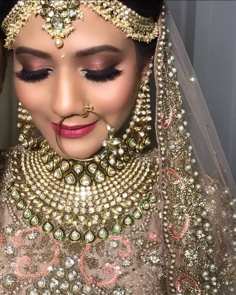 Bridal Makeup Looks Which Rocked The 2018 Indian Wedding Season - Blog inside Indian Bridal Makeup Ideas
