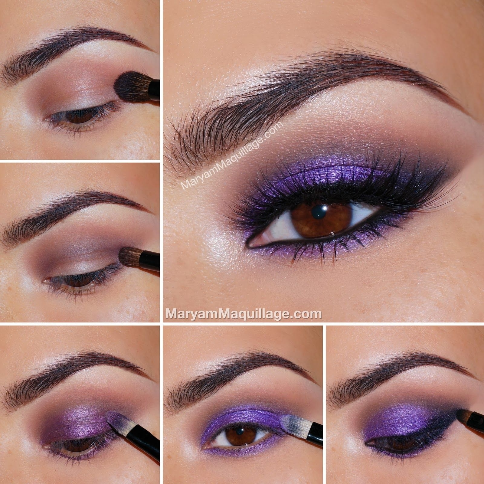 Brown Eyes Can Support A Range Of Bold Colors. Don't Be Afraid To inside Eye Makeup Ideas For Dark Brown Eyes Step By Step