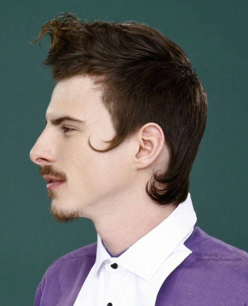 18th century men hairstyle - wavy haircut